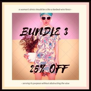 Accessories - Bundle 3-save 25%
